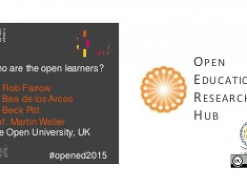 Slides: Who are the Open Learners? #opened15