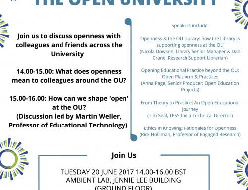 Celebrate #YearOfOpen at The Open University